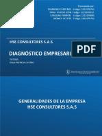 Primera entrega Diagnostico Empresarial 95%