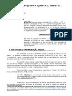 Modelo-Defesa-Recurso-contra-multa-por-recusa-ao-teste-do-bafômetro