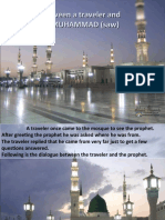 Dialogue Between a Traveler and the Prophet MUHAMMAD (Saw)