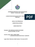 LABORATORIO DE PESAS