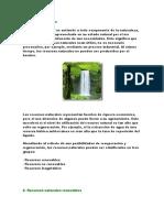 Actividad No. 2 Recursos naturales no renovables
