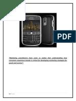 Marketing Blackberry Final