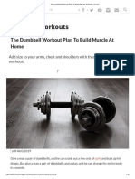 The Dumbbell Workout Plan to Build Muscle at Home _ Coach