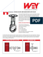 Knife Edge Gate Valve DB