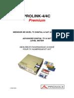Manual Prolink4c