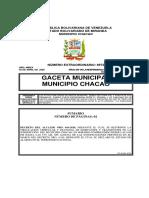 Gaceta Municipal de Chacao