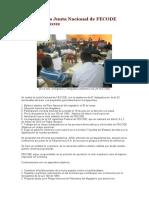 Conclusiones Junta Nacional de FECODE
