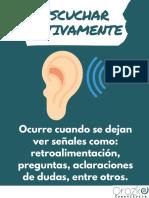 Escuchar activamente