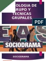 PSICOLOGIA DE GRUPO Y TECNICAS GRUPALES