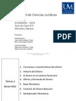 03 - 2019 - Ciencias Juridicas - Economia - Moneda y Bancos - Guia de Clase 3