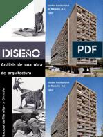 Analisis de la Unidad de Marsella - Le Corbusier