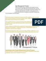 Definisi dan Pengertian Management Trainee.docx