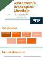 Colecistectomía laparoscópica_ Abordaje