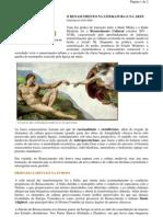 História Geral - portaltosabendo - O Renascimento na Literatura e na Arte