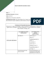 Análisis pruebas organizacionales perfil 62