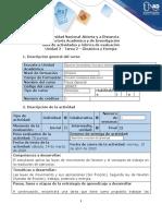 Guía de Actividades y Rúbrica de Evaluación - Tarea 2 - Dinámica y Energía (1)