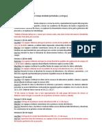 Geotecnia - Cronograma de trabajo detallado 2020-1