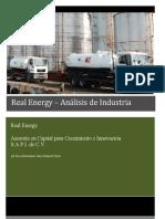 Real Energy Análisis de Industria.docx