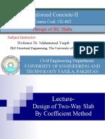 Coefficient Method (Example + Assignment)