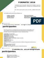 FormaTec 2018 - Presentación básica con familias y empresas participantes.pptx