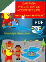 prevencion piscina