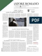 ??.LOsservatore Romano 24 Marzo 20