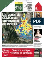 publimetro Cidade do México 24-03-2020