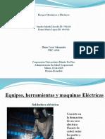 Equipos, maquinas y herramientas electricas
