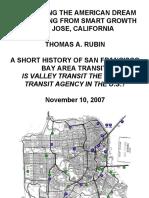 Rubin Nov 2007 VTA Worst US Transit Agency