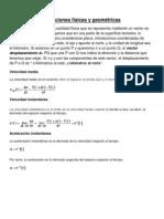 Aplicaciones físicas y geométricas