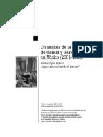 analisis de la politica de ciencia y tecnologia en mexico