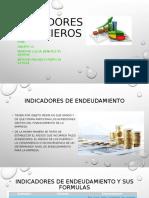 Indicadores financieros grupo 11