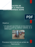 FABRICACION DE RECIPIENTES A PRESION