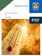 Calor y Temperatura Gael Antonio Espinoza