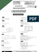Matemática - Pré-Vestibular7 - Resolução de Exercícios II