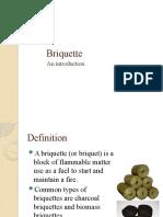Briquette.pptxIntroduction to Briquette