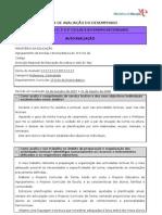 Ficha de autoavaliação - Proposta 1 (Sónia B.)