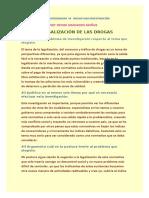 actividad #6 INICIAR UNA INVESTIGACIÓN modulo 5 legalización de las drogas