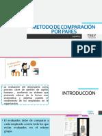 METODO DE COMPARACIÓN  POR PARES (1)