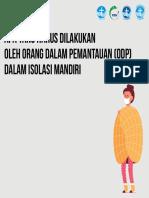 Apa yang Harus Dilakukan oleh Orang Dalam Pemantauan (ODP) dalam Isolasi Mandiri