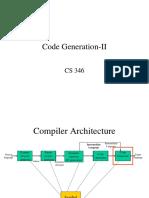 CS346-code-generation-II