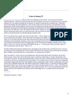 Letter of Antony IV
