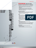 Aplicación DIN EN ISO 14122-4 Escalas
