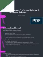 Gangguan Preferensi Seksual & Disfungsi Seksual - dr. Iwan.pptx