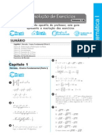 Matemática - Pré-Vestibular7 - Resoluções I - Modulo1b