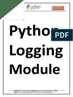 Python Logging Module.pdf