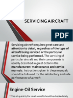 SERVICING-AIRCRAFT
