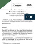 Lateral_displacement_MEMS_sensor