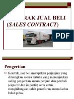 Kontrak Jual Beli (Sales Contract) 3