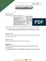 Devoir de Synthèse N°3 - Économie - Bac Eco   (2010-2011) Mr Zribi